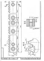 Изготовление реек для токарных и расточных станков
