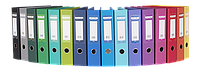 Папка-регистратор А4  двухсторонний  ELITE  70мм Buromax BM.3001c (BM.3001-03c(т.синий) x 53898)