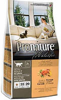 Pronature Holistic Cat Adult с уткой и апельсинами, 2,72 кг