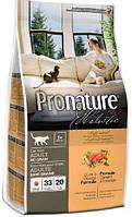 Pronature Holistic Cat Adult с уткой и апельсинами, 5,44 кг