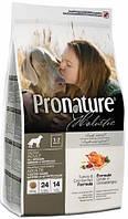 Pronature Holistic Dog Adult All Breeds Indoor & Outdoor с индейкой и клюквой, 2,72 кг