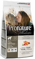 Pronature Holistic Dog Adult All Breeds Indoor & Outdoor с индейкой и клюквой, 13,6 кг