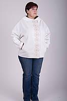 Демисезонное короткое женское пальто 2-348 Sergio Cotti