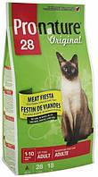 Pronature Original Cat Adult Meat Fiesta с курицей, ягненком и лососем, 5,44 кг