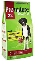 Pronature Original Dog Adult Large Breeds с ягненком, 12 кг