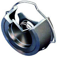 Клапан обратный межфланцевый дисковый из нержавеющей стали CV10/s1-s2