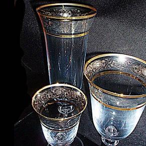 Boh ANGELA Набор бокалов 18пр.  b40600 (43249) платина, фото 2