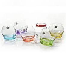 Boh CRAZY Набор стаканов 390мл 6шт. b25250-D4718 цветное дно