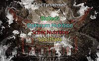 Поступление товара: BioTech, Optimum Nutrition, Scitec Nutrition, SportFaza.