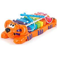 Развивающая музыкальная игрушка - ТИГРЕНОК-КСИЛОФОН: ДВА В ОДНОМ 629877MP