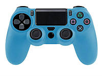 Силіконовий чохол для Sony Playstation 4  блакитний