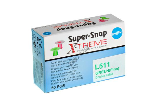 Диски Super-Snap L511 зеленые