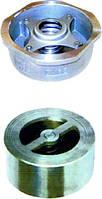 Клапан обратный межфланцевый подпружиненный из нержавеющей стали LCV-40