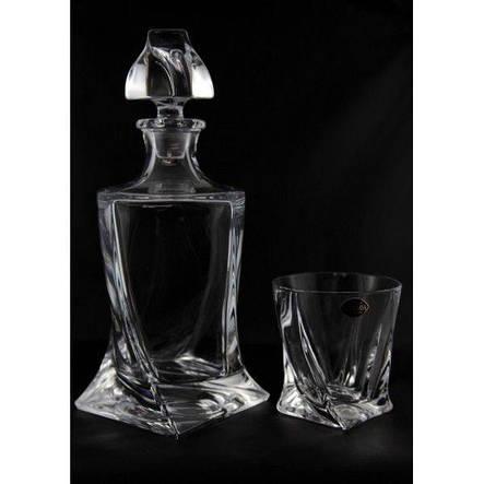 Boh Quadro Набор для виски (стак.340мл-6шт.,граф.750мл-1шт.) b99999-99А44, фото 2