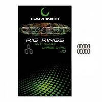 Rig Rings Oval 4.5mm (10шт) колечки для крючков Gardner
