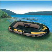 Надувная лодка Intex 68346 Seahawk 236*114*41 на 2 человека