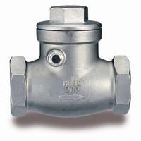 Клапан обратный IVR 654 муфтовый поворотный из нержавеющей стали AISI 316
