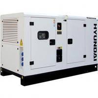 Стационарная дизельная электростанция Hyundai DHY45KSE+ATS