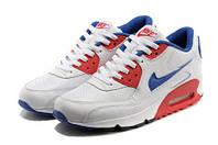Кроссовки женские Nike AirMax 90 (размер 39) бело-синие