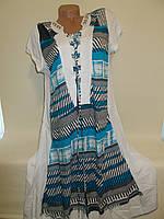 Туника-платье летнее №245