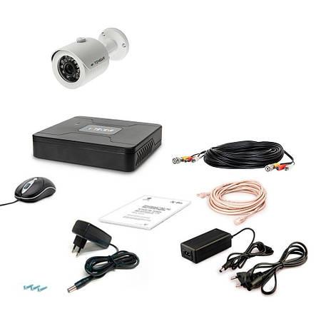 Комплект видеонаблюдения Tecsar AHD AHD 1OUT-2M-AUDIO