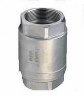 Клапан обратный муфтовый поршневой пружинный из нержавеющей стали H12W-16P(R)