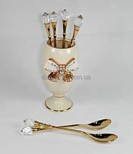 Lefard Набор чайных ложек из 6шт на подставке 86-1286