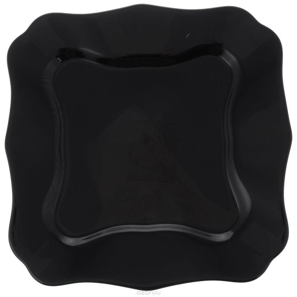 Luminarc Authentic Black Тарелка обеденная квадрат. 26см J1335