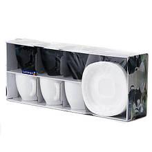 Luminarc Carine Black/White набор (сервиз) чайный 220мл d2371