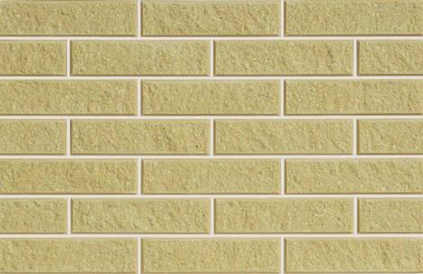 Плитка фасадная LAND BRICK колотая желтая 250х22х65 мм