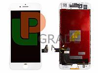 Дисплей для iPhone 7 Plus + touchscreen, белый, копия высокого качества