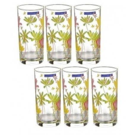 Luminarc Crazy Flowers Набір склянок 270мл-6шт E g4604, фото 2