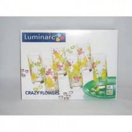 Luminarc Crazy Flowers Набор стаканов 270мл-6шт E g4604, фото 2