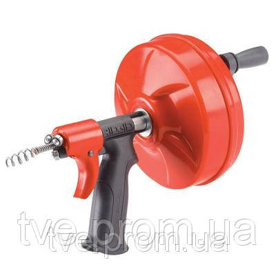 Инструмент для прочистки труб Ridgid POWER SPIN с автоподачей AUTOFEED