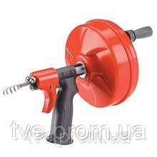 Инструмент для прочистки труб Ridgid POWER SPIN+ с автоподачей AUTOFEED