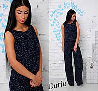 Комбинезон женский летний с брюками софт 2 расцветки Dch480