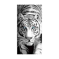 Красивое большое полотенце с тигром