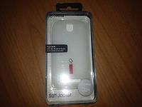 Накладка на заднюю крышку HTC Desire SV T326e Capdase Силиконовая бело-полупрозрачная, матовая