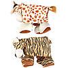 Игрушка Karlie-Flamingo Plush Safari Animals для собак складная, 38х10х30 см