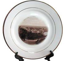 Примеры работ печати на тарелках