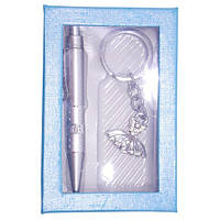 Набор подарочный 10242 Серебро (Платье) 12х8х2
