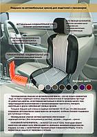 Ортопедическая, массажная накидка на сидение для автомобиля и кресла. Антиаллергенная