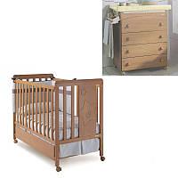 Комплект мебели для детской NOVA HONEY кроватка и комод Медовый (NOVA HONEY/K1)