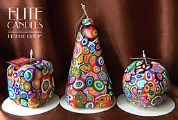 Декоративные свечи от ELITE CANDLES купить с доставкой в Киев и по всей Украине