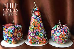 Декоративні свічки від ELITE CANDLES