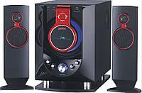 Караоке акустика 2.1 USBFM-8810R/2.1 (USB/Karaoke/FM-радио)