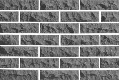 Плитка фасадная LAND BRICK скала серая 250х20х65 мм