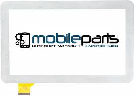 "Оригинальный Сенсор (Тачскрин)  для планшета 7"" Modecom FreeTab 2069   2096(тип 1) (186*111 мм, 30pin) (Белый)"