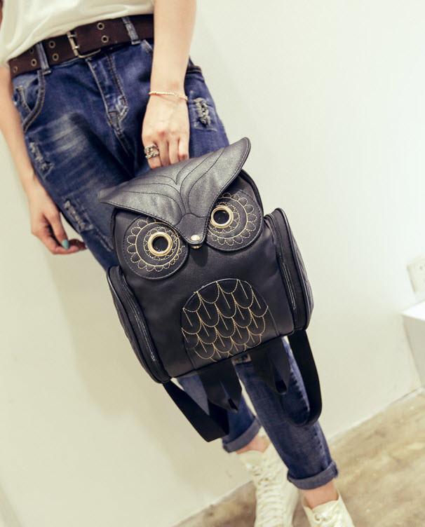 Замечательный оригинальный рюкзак Сова