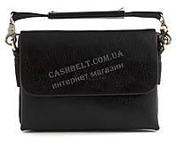 Удобная маленькая прочная мужская сумка барсетка с качественной PU кожи SAIFILO art. K1132-33 черный
